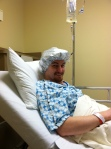 Waiting to go into the O.R.