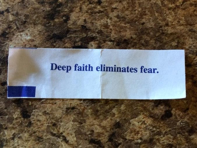 Fortune Cookie Deep Faith